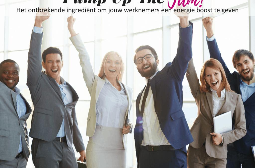 Pump Up The Jam Webinar op het werk