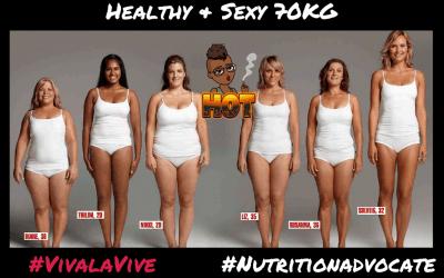 Healthy & Sexy 70 Kilo