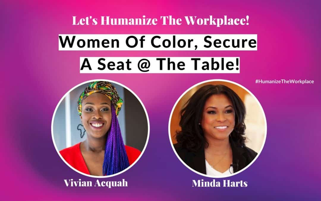 Women of Color Secure A Seat At The Table