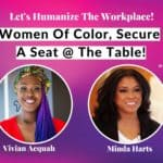 Women Secure A Seat At The Table - Minda Harts - Vivian Acquah
