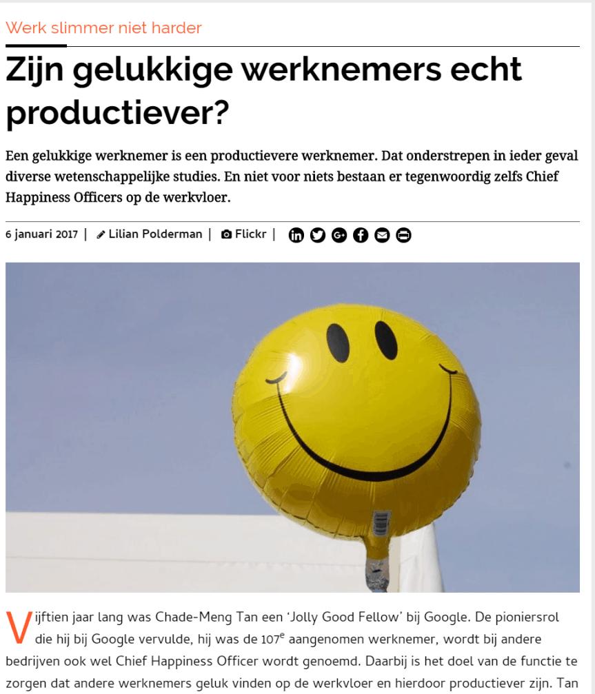 gelukkige werknemer, judritza, vivian acquah, psycholoog, duurzame inzetbaarheid